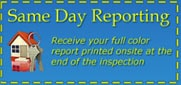 Birmingham Home Inspections Same Day Reporting